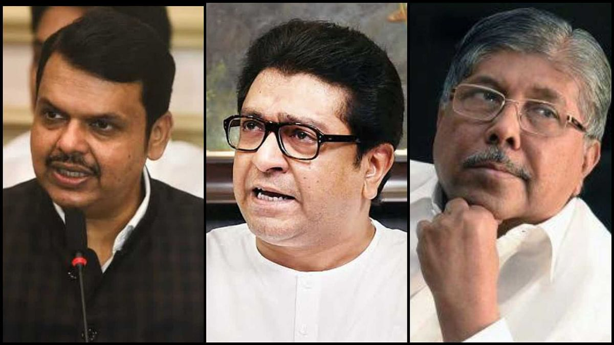 Mumbai: Security of Devendra Fadnavis, Raj Thackeray and Chandrakant Patil reduced by MVA government