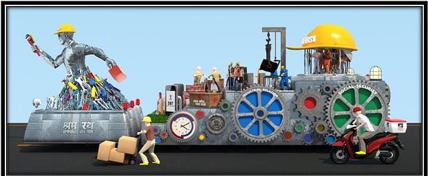 Ministry of Labour and Employment Republic Day tableau to depict historical labour reforms brought in recently