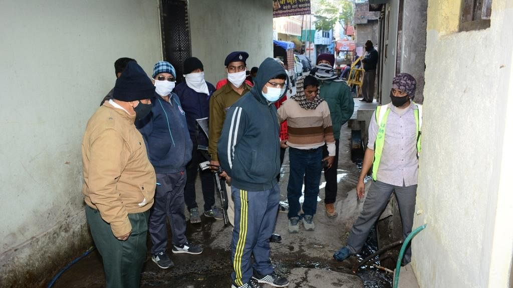Municipal Commissioner assesses cleanliness arrangement in Ujjain on Friday
