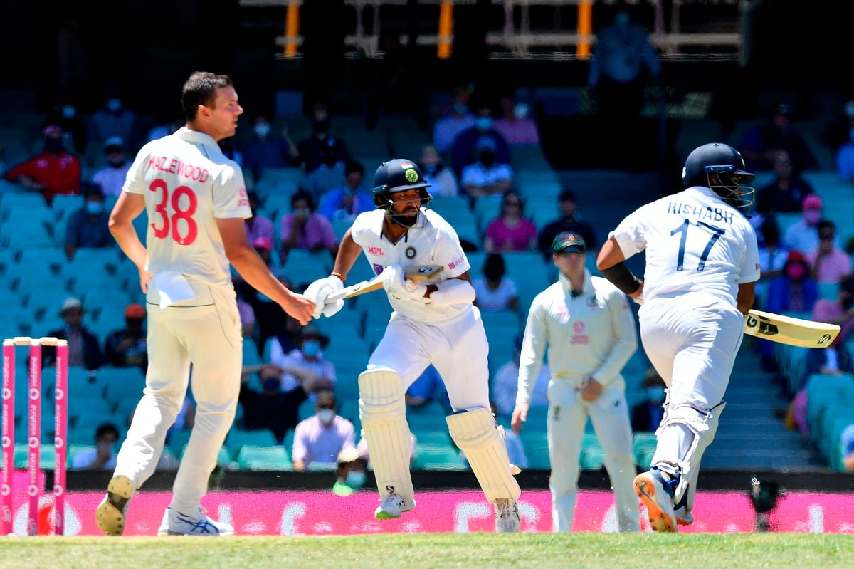 Ind vs Aus, 3rd Test: India lose 6 wickets for 200 after Pujara, Pant heroics