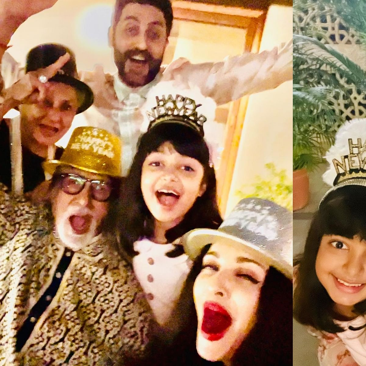 'Love, peace and happiness': Here's how the Bachchans welcomed 2021