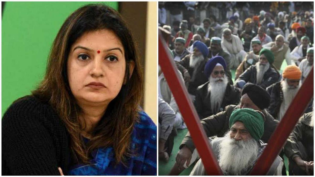 Mumbai: Shiv Sena MP Priyanka Chaturvedi  slams Centre for imposing 'BJP's democrazy