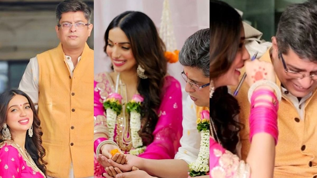 In Pics: Writers Kanika Dhillon and Himanshu Sharma are officially married!