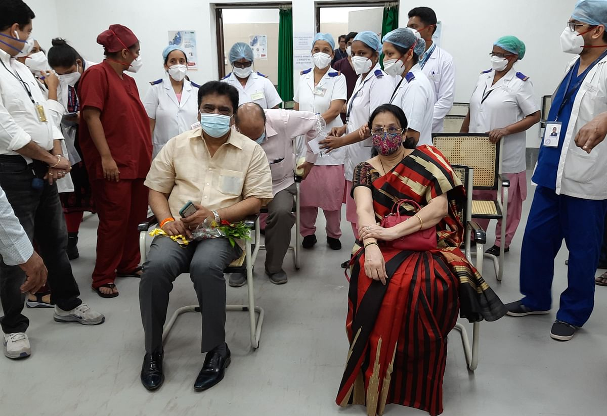 Covid vaccination in Mumbai: Proud moment for beneficiaries