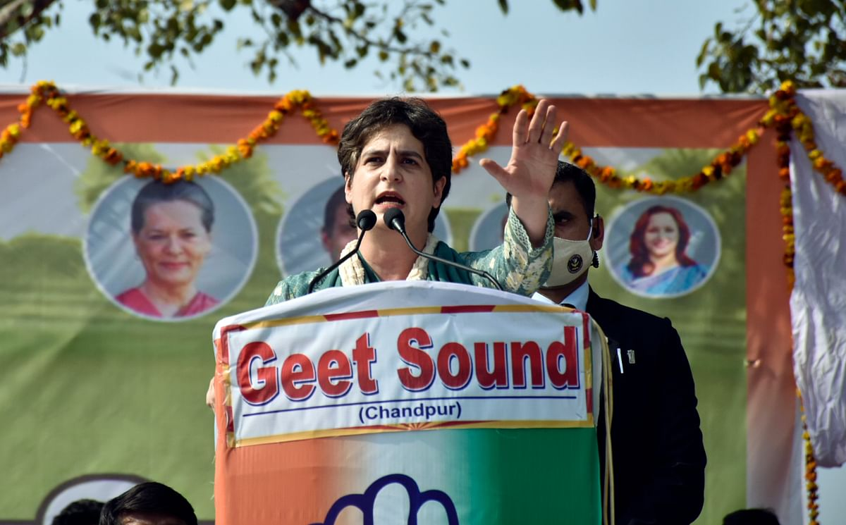 PM Modi can go on foreign junkets but no time to meet farmers: Priyanka Gandhi