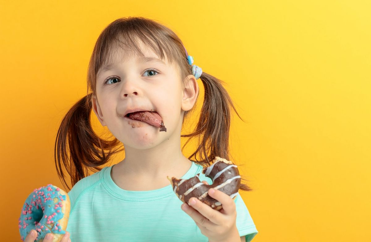 Why you should not let children eat foods that are high in sugar and fats