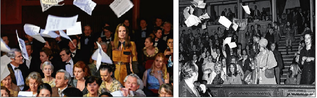 It was the 1970 protest against the  Miss World pageant that spotlighted the term women's liberation