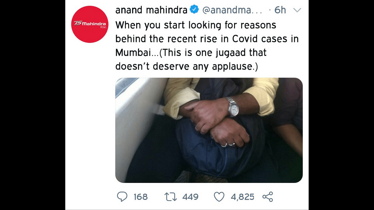 Sleep over Safety? Anand Mahindra disapproves of THIS jugaad