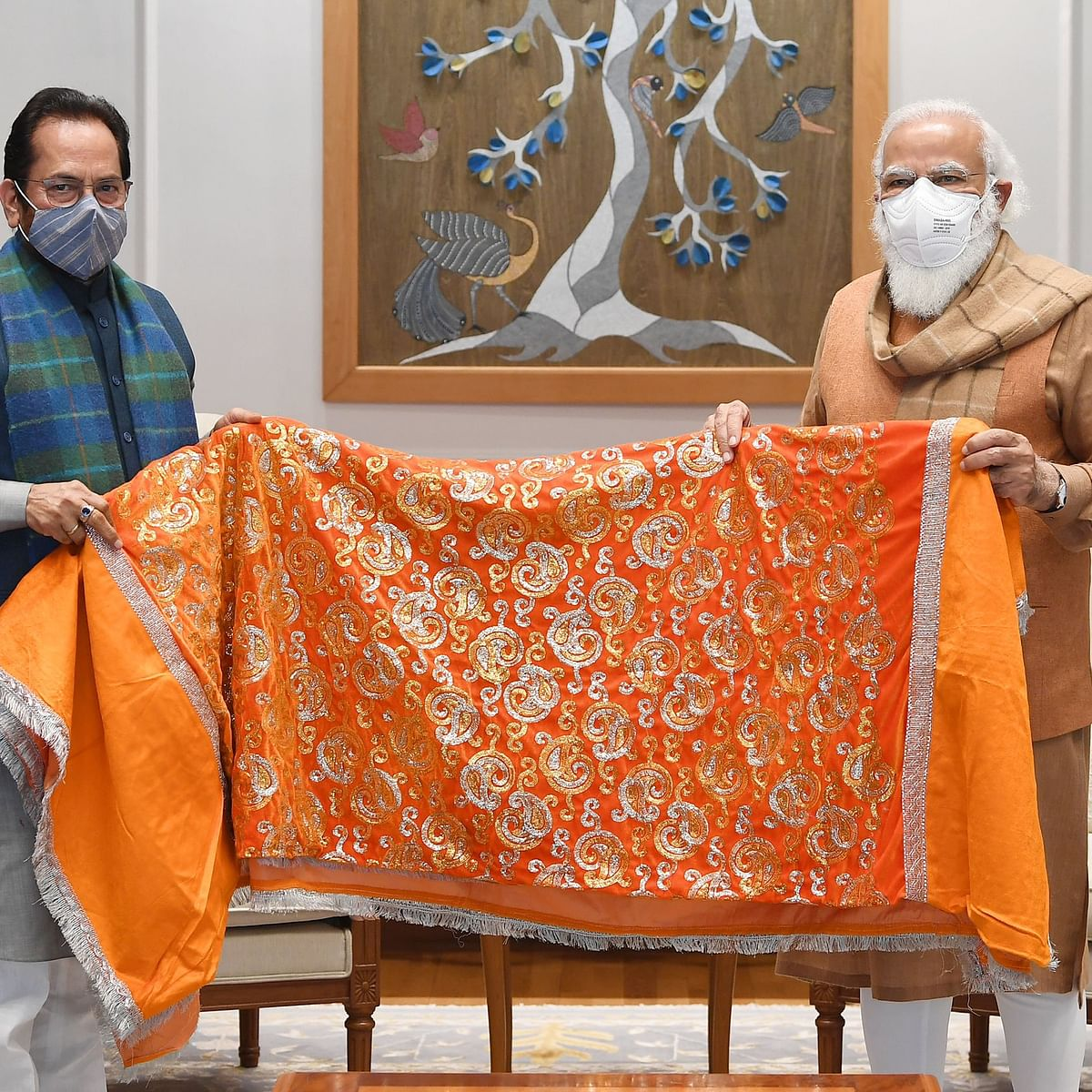 PM Modi hands over 'chadar' to be offered at Ajmer Sharif Dargah
