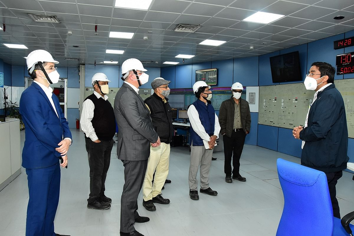 Ambassador of Uzbekistan in India visits NTPC Dadri