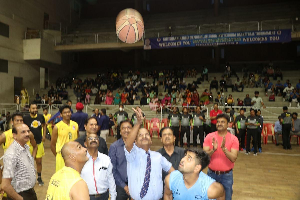 Indore: Shanky Hardia Memorial basketball tournament begins