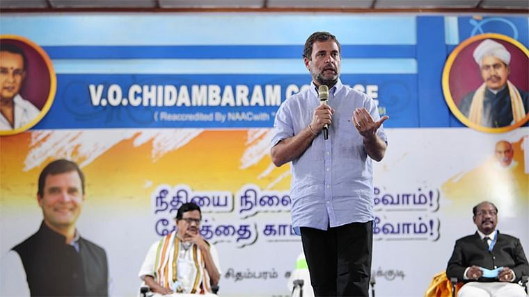 Rahul Gandhi accuses BJP of 'buying' people, says 'only way to win is if Congress has 2/3rd majority in Tamil Nadu'