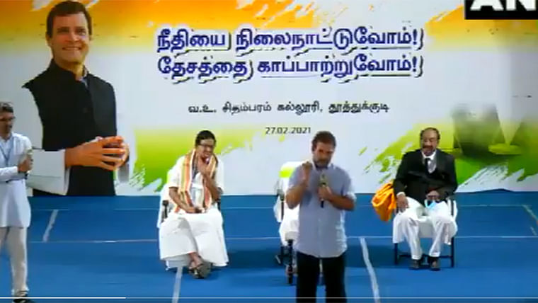 'Useful to only 2 people': In Tamil Nadu, Rahul Gandhi launches another bout of attack on PM Modi