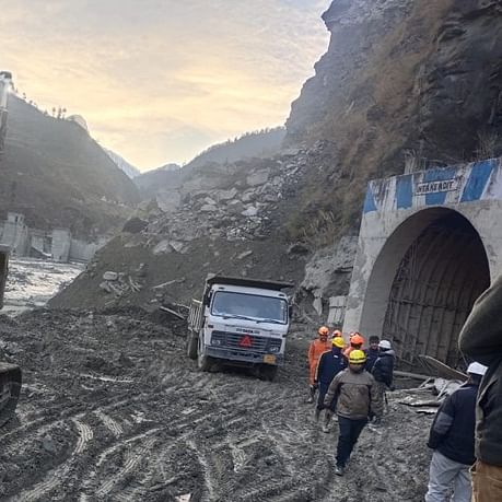 Uttarakhand glacier burst: Rescue operations continue for sixth day at Tapovan tunnel