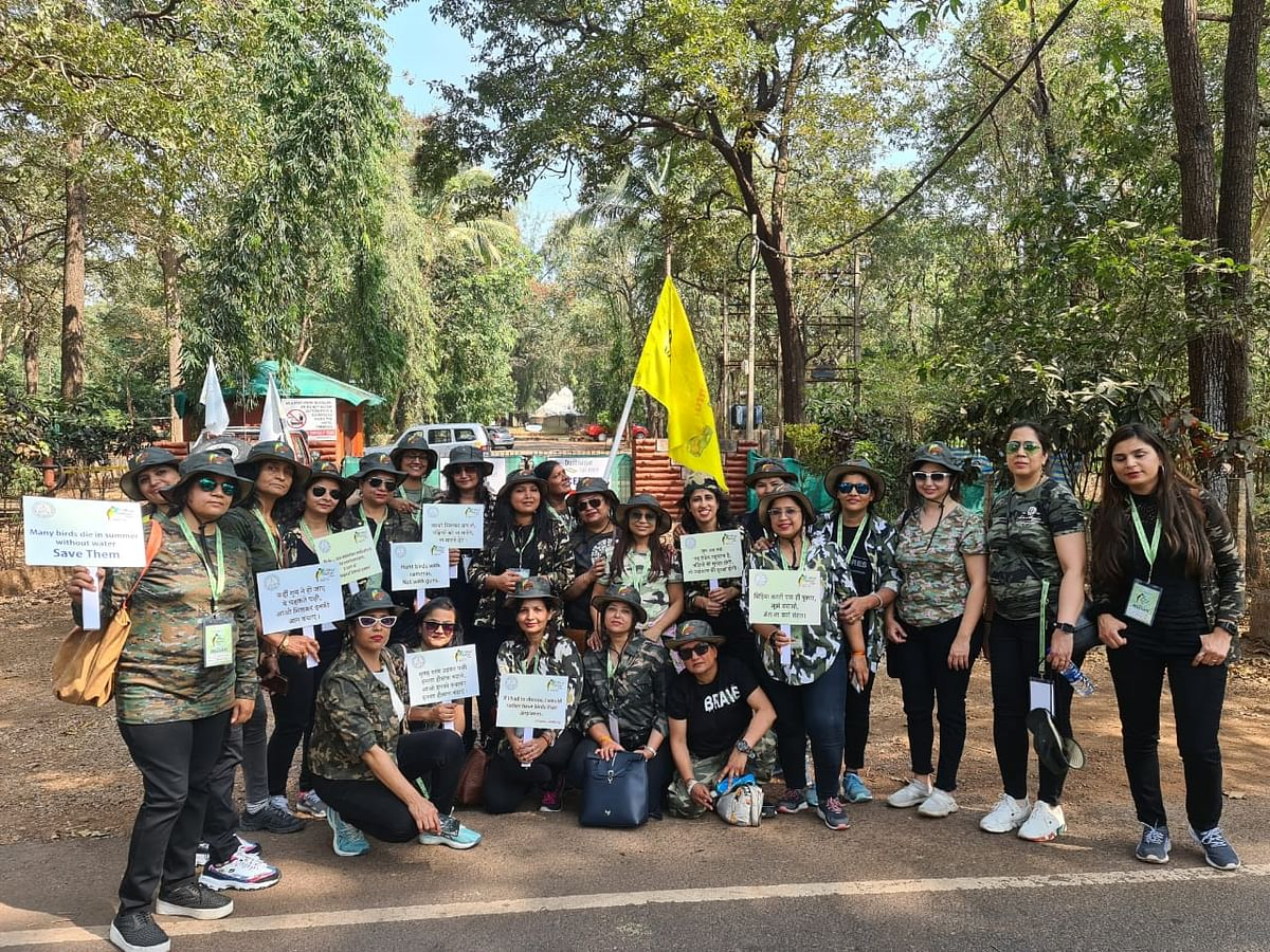 INDORE: Adventure Woman Group members felicitated in Goa for generating awareness on environment protection
