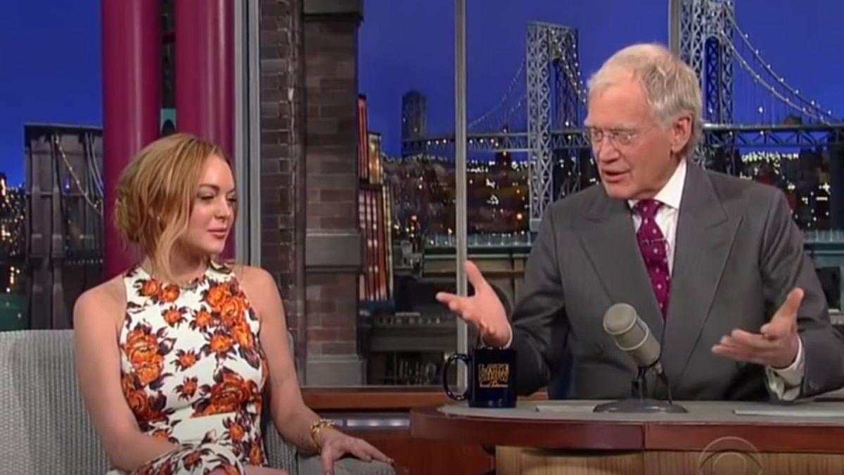 'Misogynistic, rude, unprofessional': David Letterman slammed over resurfaced Lindsay Lohan interview