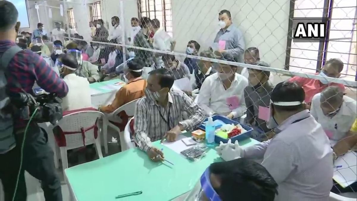 Counting of votes for local body polls underway in Ahmedabad