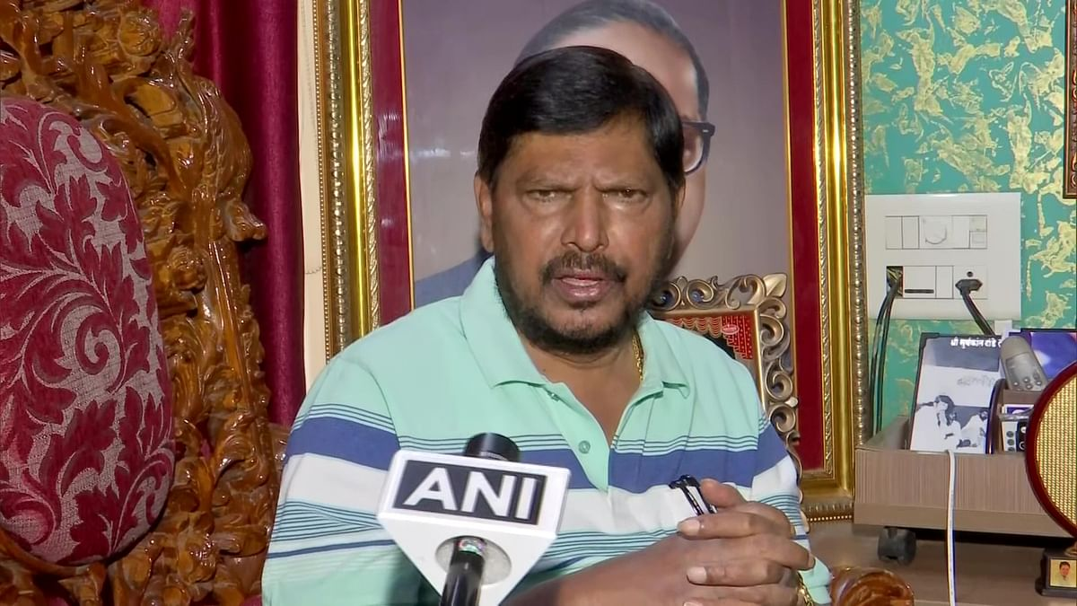 Mumbai: Union minister Ramdas Athawale calls for caste-based census