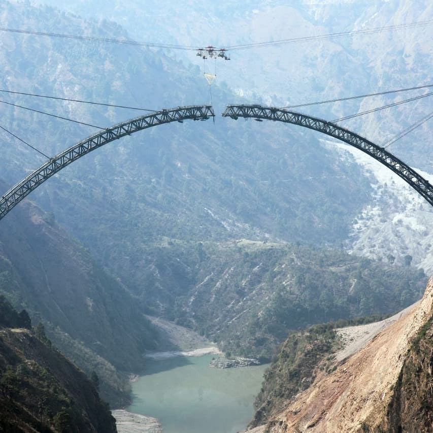 'Infrastructural marvel': Piyush Goyal hails 'engineering milestone' as rail bridge over Chenab river nears completion