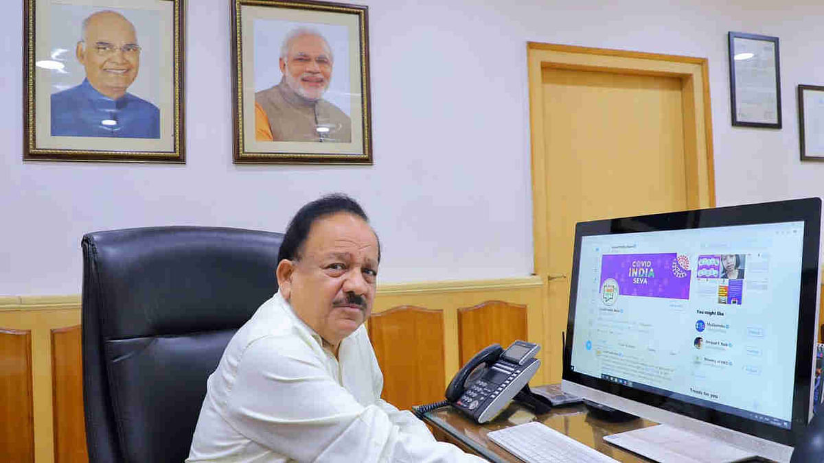 Free Covid-19 vaccine for 3rd priority group of 26 crore people being discussed: Harsh Vardhan