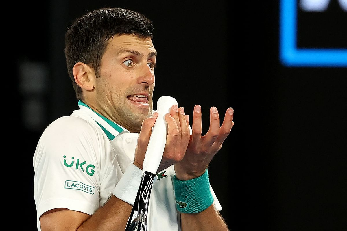 Australian Open: Triple treat for supreme Djokovic; The world No 1 overwhelms Russian Medvedev for 9th Australian Open, and 18th Slam overall