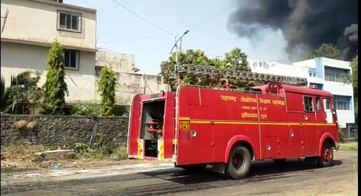 Navi Mumbai: Major Fire at chemical unit in Taloja