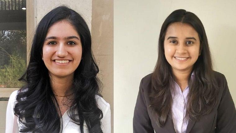 Mumbai girls Komal Jain and Rajvi Nathvani top CA final exam