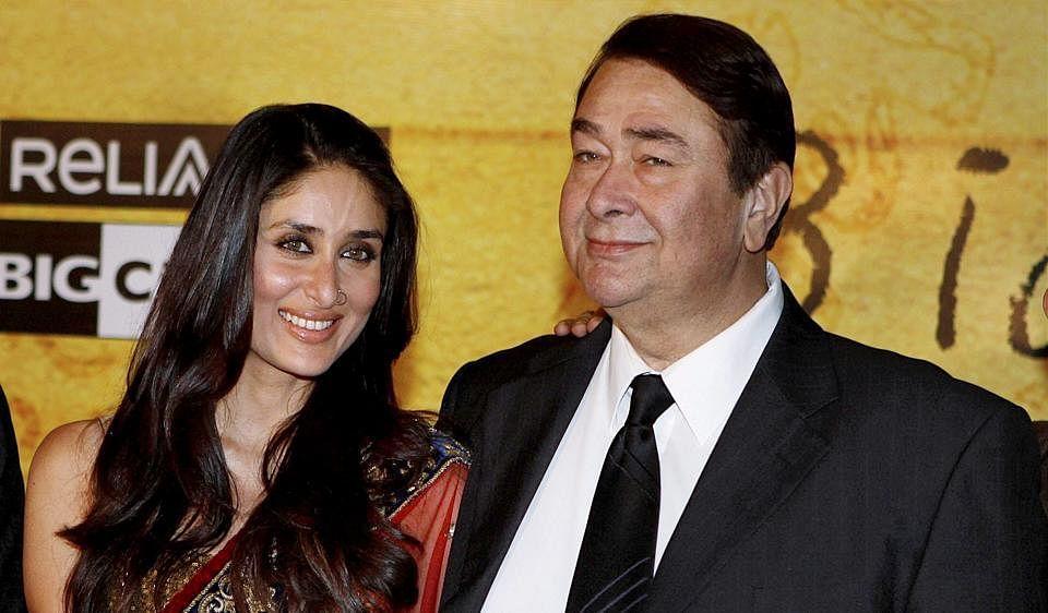 What is common between Kareena's newborn son and her father Randhir Kapoor?