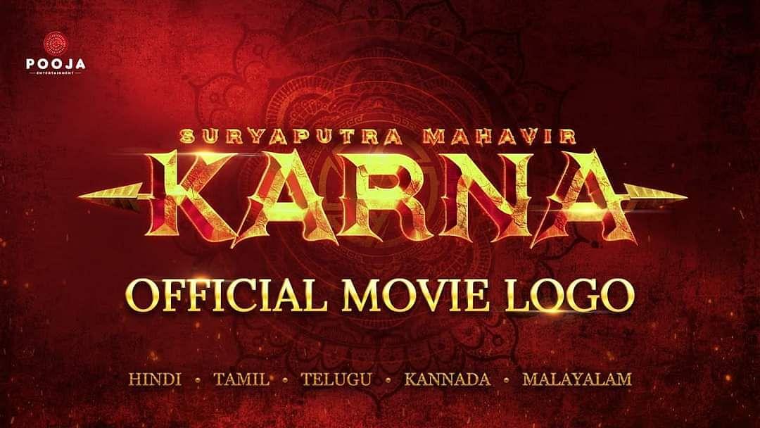 Watch: Pooja Entertainment unveils the enthralling title logo of their magnum opus 'Suryaputra Mahavir Karna'