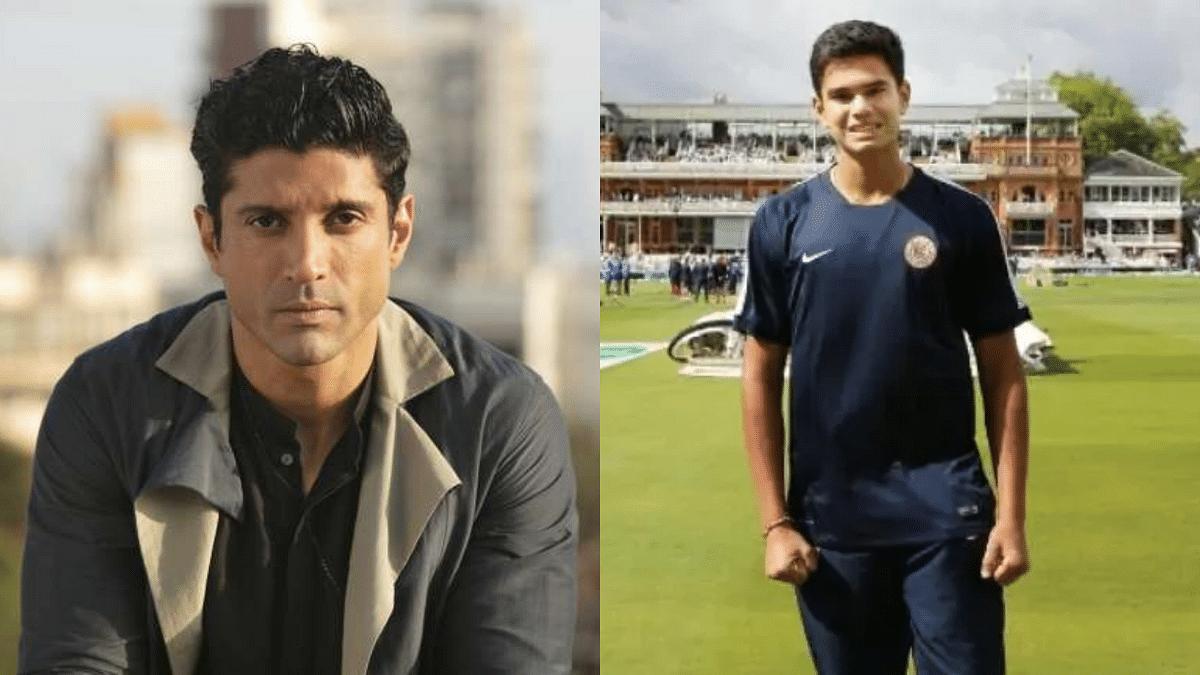 'Don't murder his enthusiasm': Farhan Akhtar tweets in support of Arjun Tendulkar