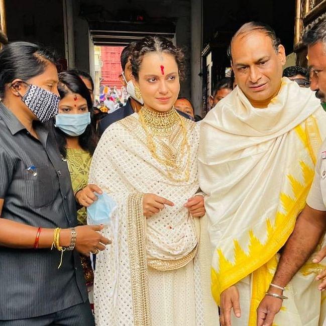 Kangana Ranaut seeks Lord Jagannath's blessings in Puri