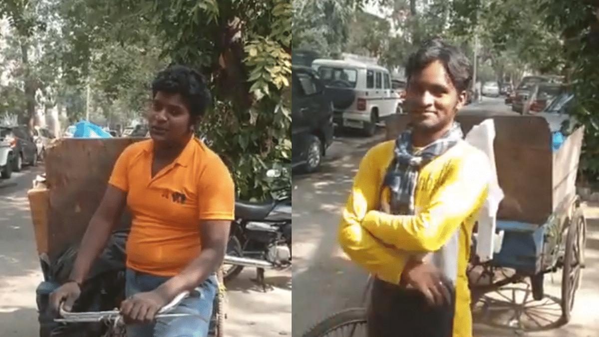 Anand Mahindra promotes two singers who work as waste pickers; Twitter is impressed.