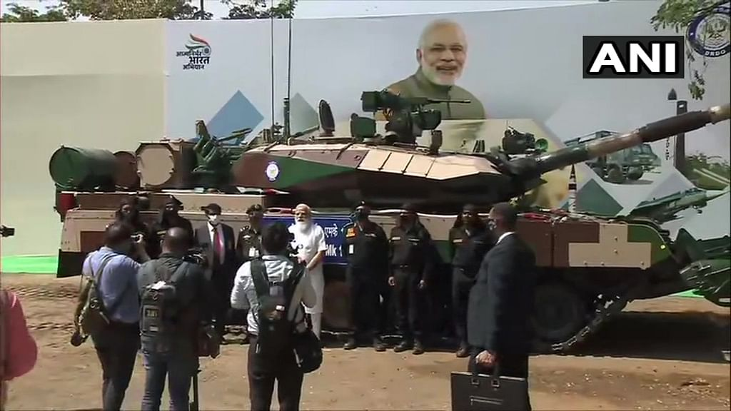 Chennai: PM Modi hands over indigenous Arjun tank to Army