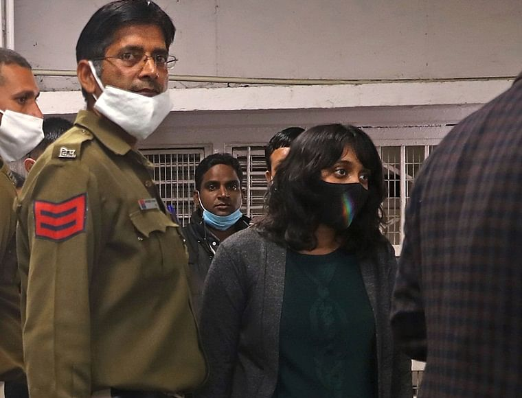 Toolkit case: Disha Ravi released from Tihar Jail