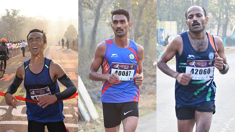 Chhattisgarh: 3rd peace marathon held in Naxal headquarters Abhujmad