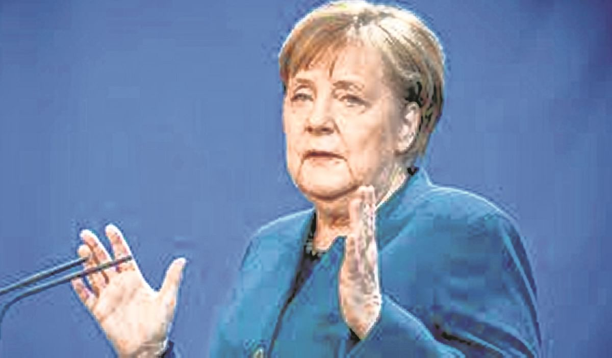 US, Europe need to develop joint strategy on China, Russia: German Chancellor