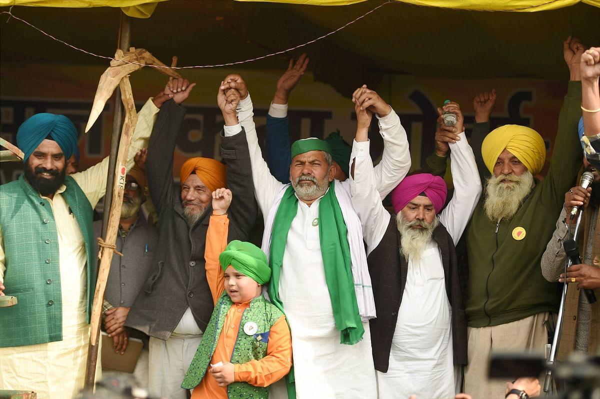 'Kanoon wapsi nahi toh ghar wapsi nahi': BKU's Rakesh Tikait says farmers' protest will not end before October
