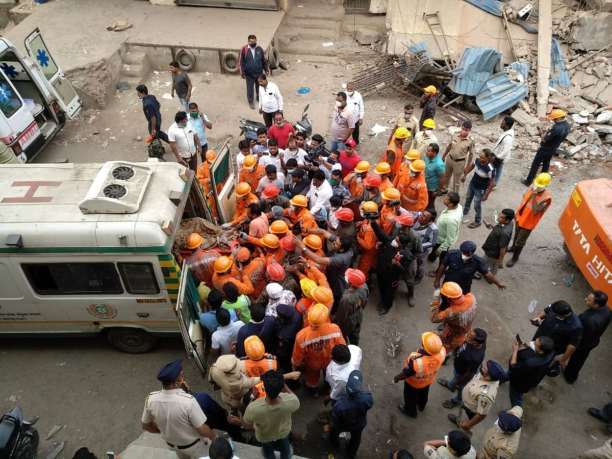 Thane: Godown collapses in Bhiwandi, one dead, six injured