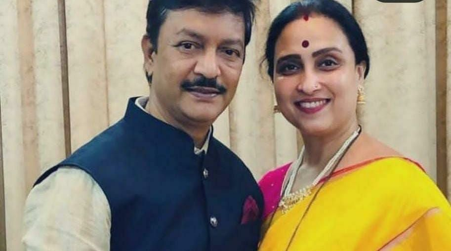 Mumbai: BJP state vice president Chitra Wagh's husband booked by ACB