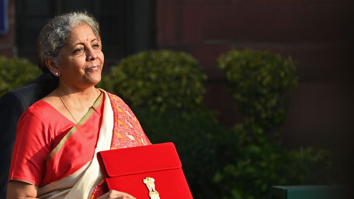 Decoding the meaning behind FM Nirmala Sitharaman's red saree for Union Budget 2021