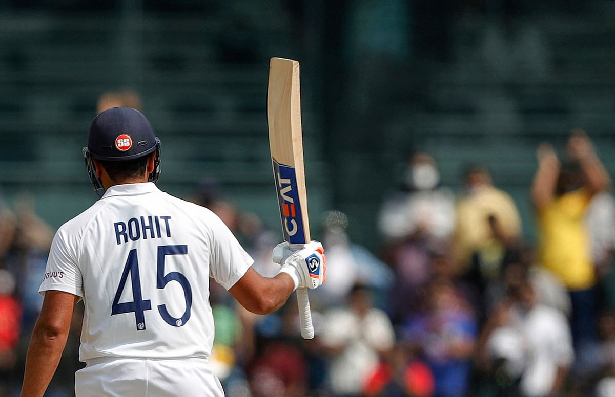Ind Vs Eng, 2nd test: Rohit Sharma slams 161, India finish Day 1 on 300/6