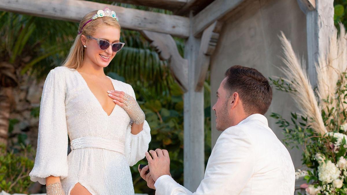 Paris Hilton confirms engagement with boyfriend Carter Reum, shares mushy pics