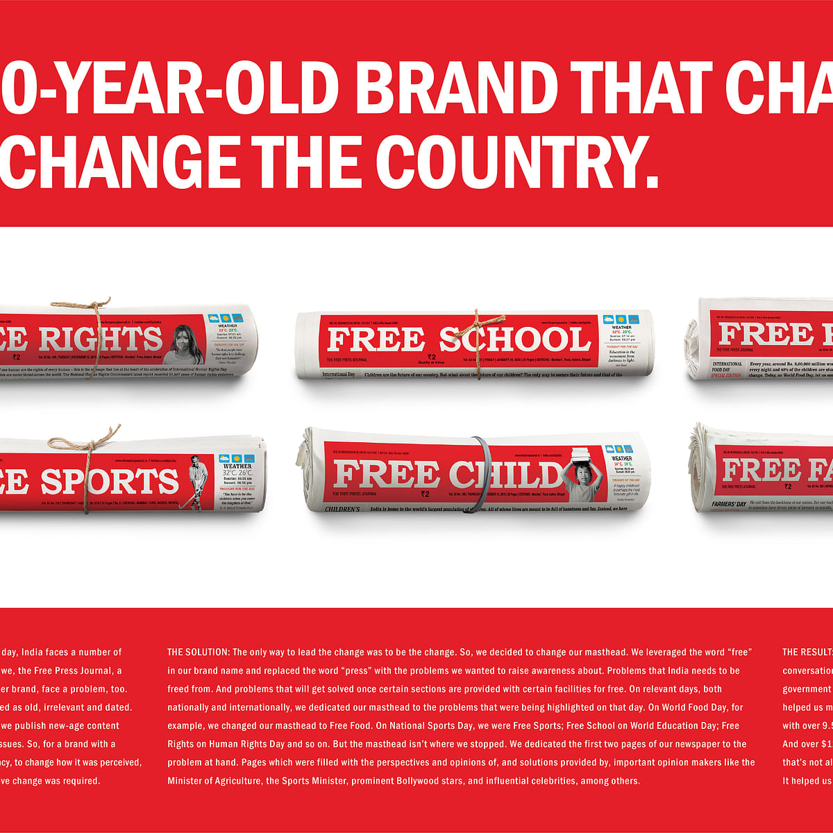 Free Press Journal's 'Free initiatives' campaign wins gold at Adfest 2020