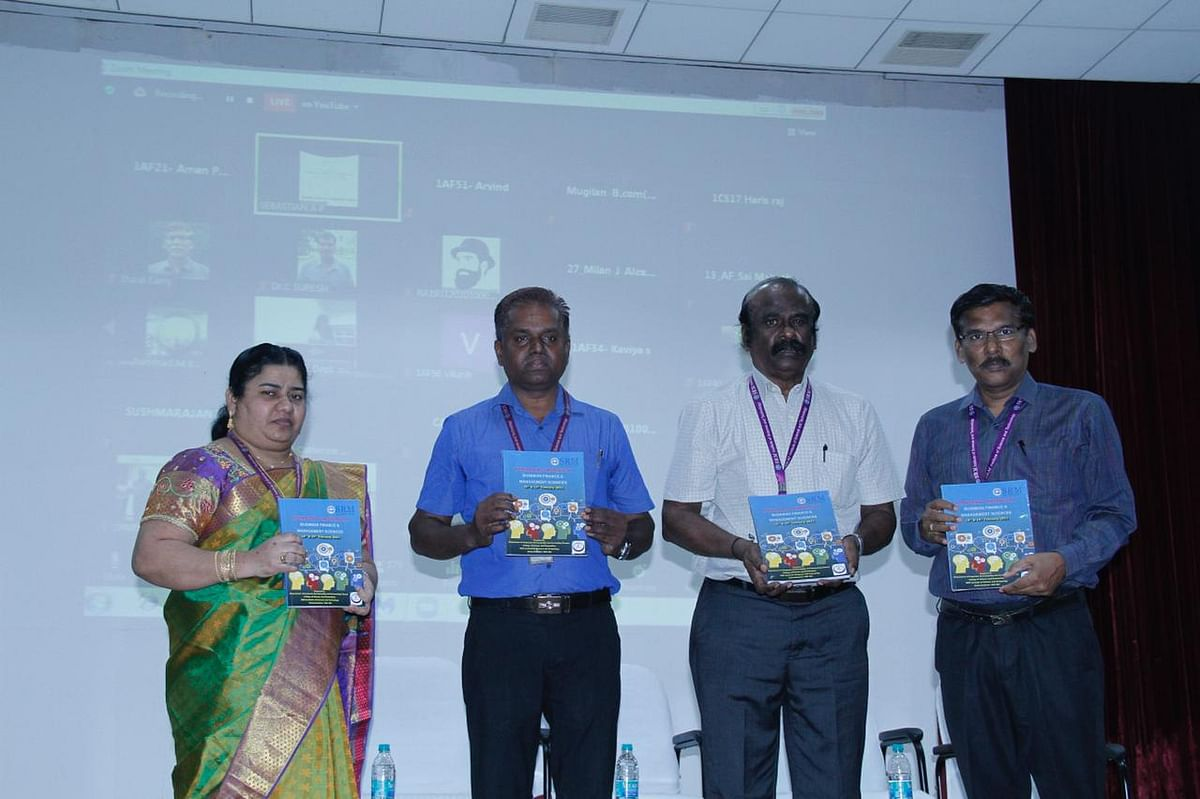 "SRM hosts an International conference on ""Business Finance and Management Sciences"""
