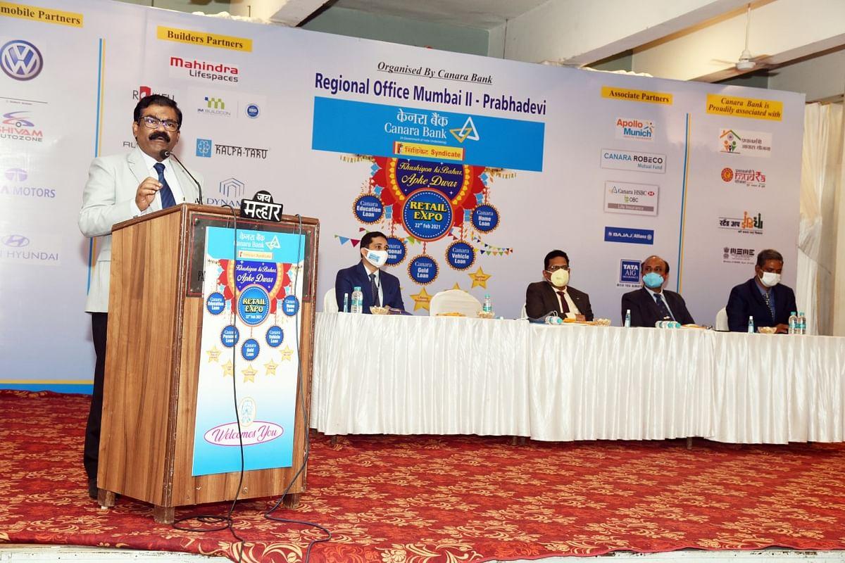 Canara Bank organizes Mega Retail Expo in Mumbai