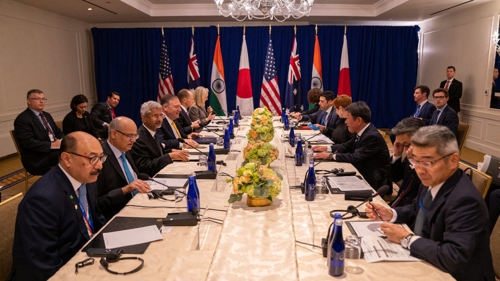 The first 'Quad' meeting was held in 2019 on the sidelines of the UNGA in New York