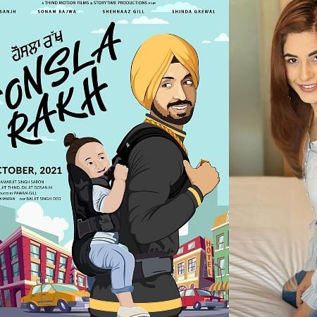 Diljit Dosanjh to star in and produce 'Honsla Rakh' featuring Shehnaaz Gill'