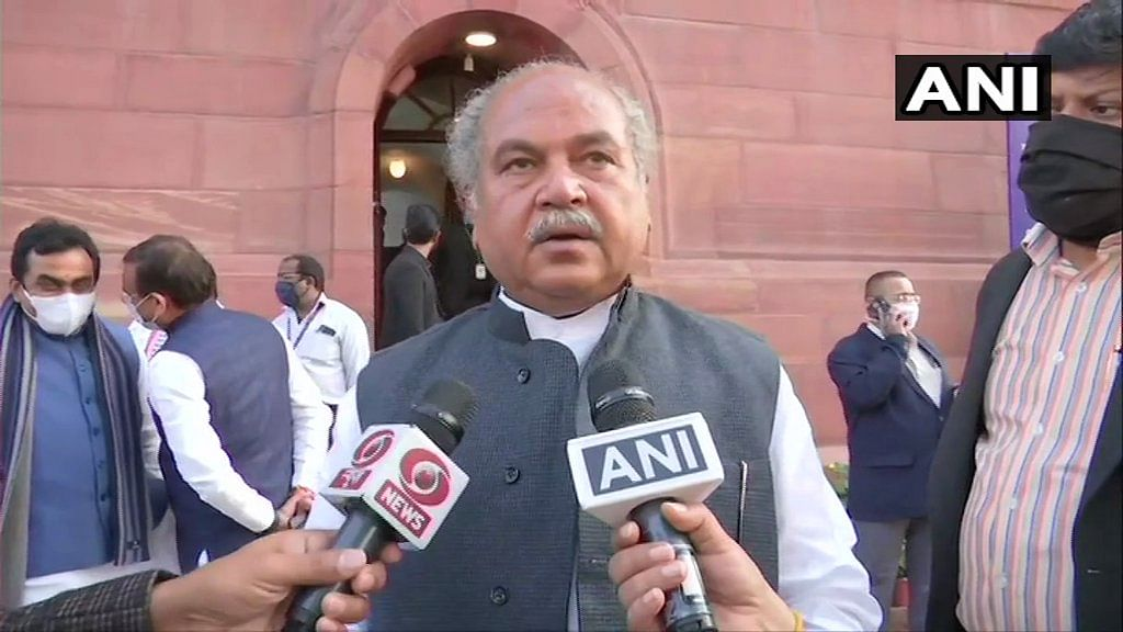No one ready to say what is black in the 'black laws': Agri Minister Narendra Singh Tomar