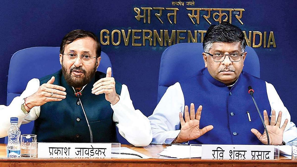 OTT guidelines: Prakash Javadekar, Ravi Shankar Prasad to address press conference on Digital Media Ethics Code