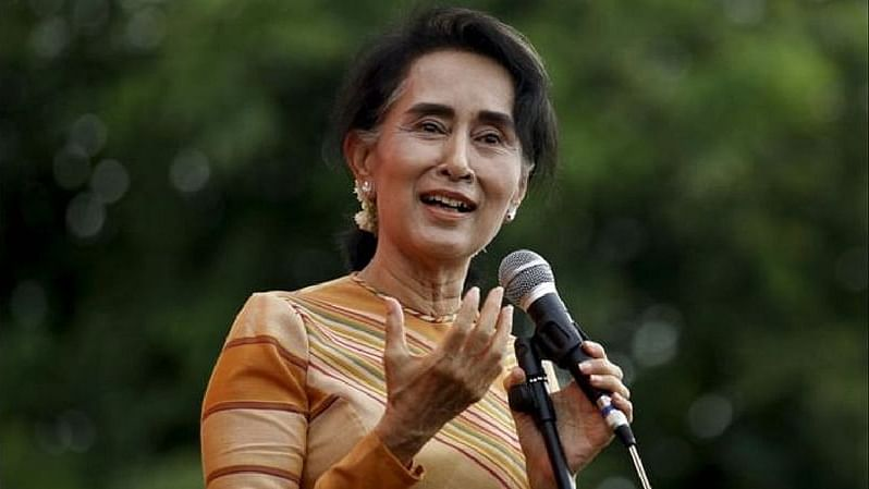 Aung San Suu Kyi has been placed under house arrest.